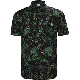 Helly Hansen M's Oya SS Shirt Ebony/Print
